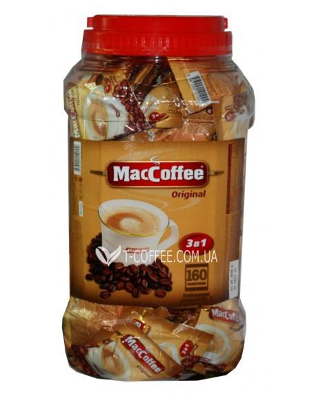 Кофе MacCoffee 3в1 Original Оригинал растворимый 160 х 20 г эконом.пак. (8887290140119)