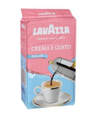Кофе Lavazza Crema e Gusto Dolce молотый 250 г (8000070037304)