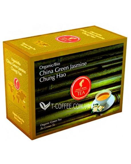 Чай Julius Meinl Bio China Green Jasmin Chung Hao Китайский Зеленый Жасмин Чунг Хао 20 x 3,25 г