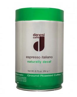 Кофе DANESI Naturally Decaf молотый 250 г ж/б (8000135414149)