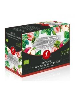 Чай JULIUS MEINL Bio Strawberry Mint Breeze Полуниця М'ята 20 x 3,5 г