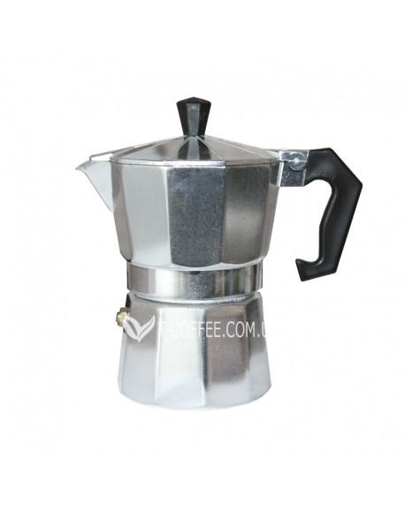 Кофеварка гейзерная Empire граненная 9 чашек