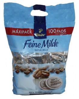 Кава TCHIBO Feine Milde в монодозах (чалдах, таблетках) 100 х 7,4 г (4046234838138)