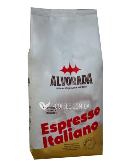 Кофе ALVORADA Espresso Italiano зерновой 1 кг (9002517300797)