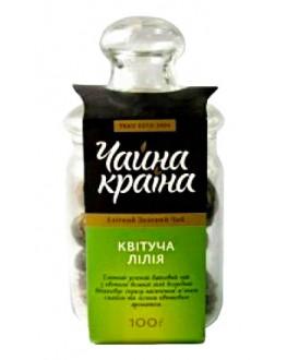 Квітуча Лілія зелений в'язаний чай Чайна Країна 100 г ст. б.