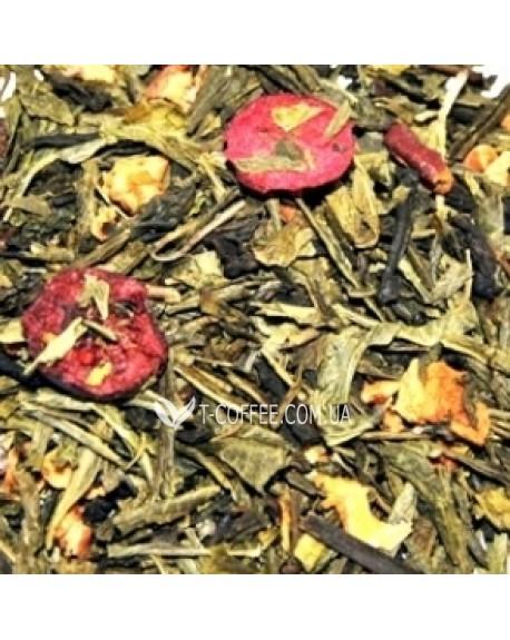 Клюква купаж зеленого и белого чая Чайна Країна