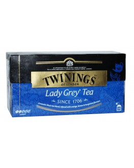 Чай TWININGS Lady Grey Tea Леді Грей 25 х 2 г (070177077198)