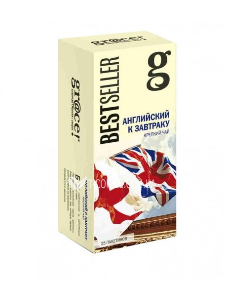 Чай GRACE! English Breakfast Английский к Завтраку - Бестселлер 25 х 2 г (5060207692540)