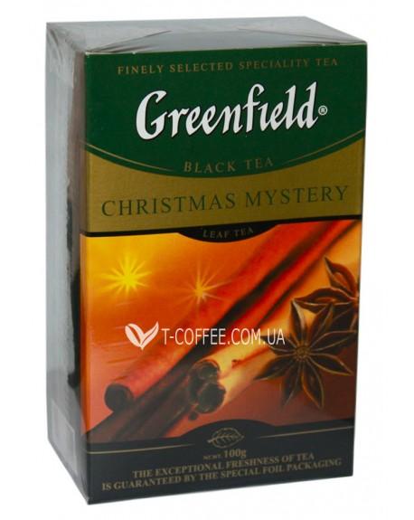 Чай Greenfield Christmas Mystery Черный со Cпециями 100 г к/п (4823096802442)