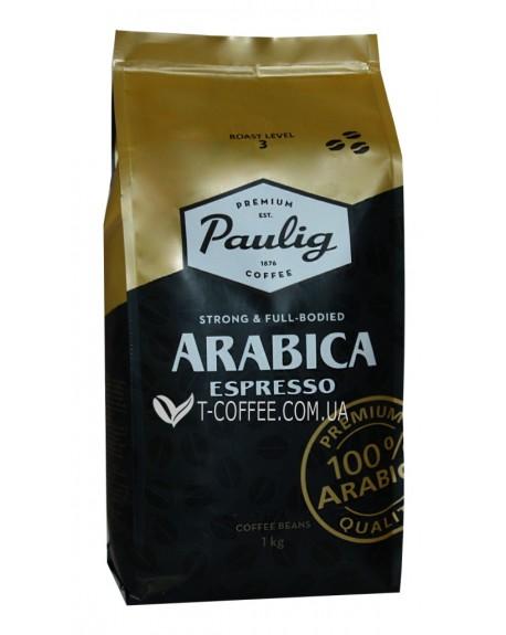 Кофе Paulig Arabica Espresso зерновой 1 кг (6411300171057)