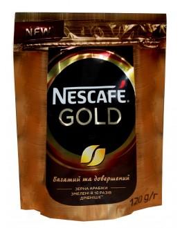 Кофе NESCAFE Gold цельнозерновой растворимый 120 г эконом. пак. (7613035524811)