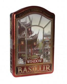 Чай BASILUR Chinese Китай - Вікна 100 г ж/б (4792252919112)