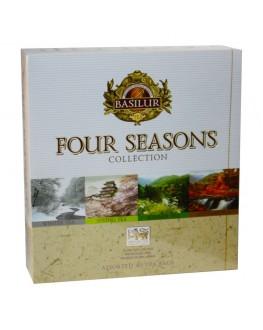 Чай BASILUR Assorted Four Seasons Асорті - Пори Року 40 х 2 г (4792252934726)