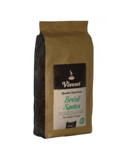 Кофе VIVENT Brezil Santos зерновой 1 кг (3071473968415)