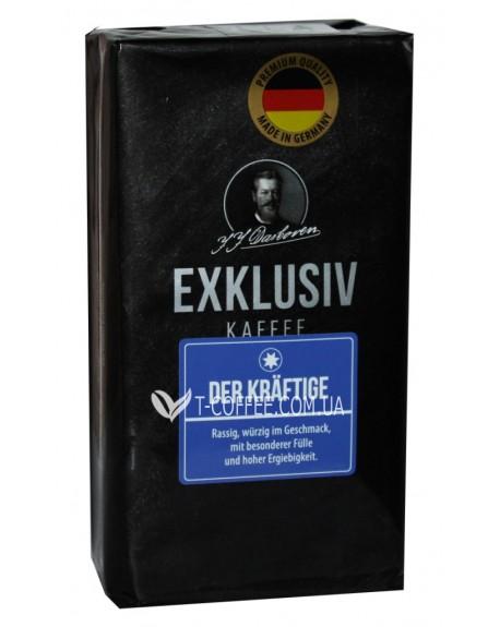 Кофе JJ DARBOVEN Exklusiv Kaffee der Krаftige 250 г молотый
