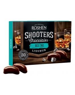 Цукерки ROSHEN Shooters Rum Ром 150 г в коробці