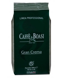 Кава BOASI Gran Crema зернова 1 кг (8003370051100)
