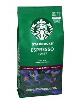 Кава STARBUCKS Espresso мелена 200 г (7613037204438)