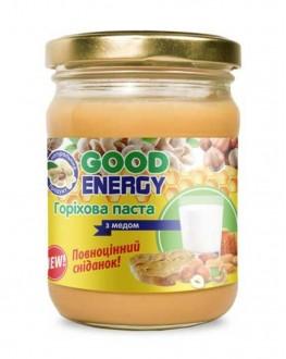 Ореховая паста GOOD ENERGY с медом 250 г (4820175571244)