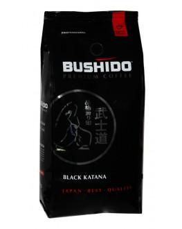 Кава BUSHIDO Black Katana зернова 1 кг (5060367340534)