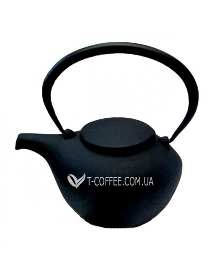 Чайник чугунный Гонконг черный 800 мл