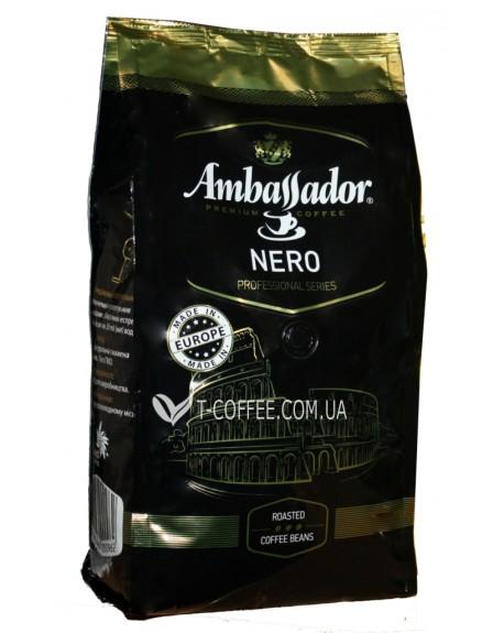 Кофе Ambassador Nero зерновой 1 кг (4051146000962)
