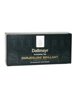 Чай DALLMAYR Darjeeling Brilliant Дарджилинг 25 х 2 г (4008167357278)
