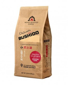 Кава BUSHIDO Delicato мелена 250 г (5060367340114)