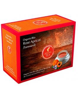 Чай JULIUS MEINL Bio Rose Apricot Роза Абрикос 20 x 3,5 г