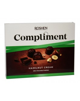 Цукерки ROSHEN Compliment Hazelnut Cream 122 г в коробці (4823077629488)