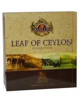 Чай BASILUR Assorted Pure Ceylon Tea Асорті - Лист Цейлона 30 х 2 г + 10 х 1,5 г (4792252934702)