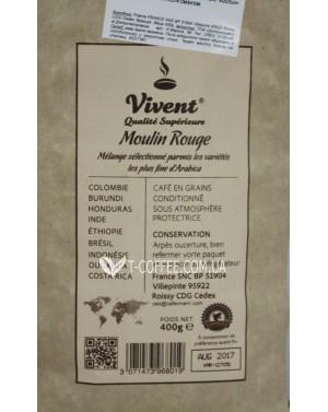 Кофе Vivent Moulin Rouge зерновой 400 г (3071473968019)