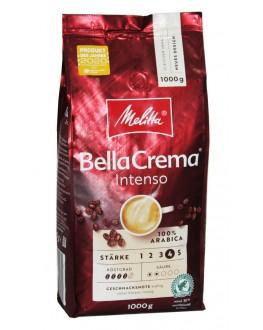 Кофе MELITTA Bella Crema Intenso 100% Arabica зерновой 1 кг (4002720009741)