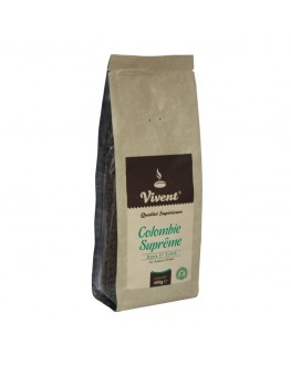 Кофе VIVENT Colombie Supreme зерновой 400 г (3071473968606)