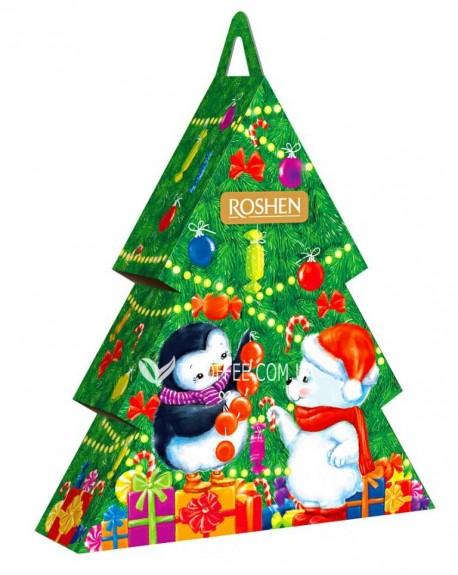 Новогодний подарок Roshen №7 Новогодняя Елка 400 г (4823077628306)