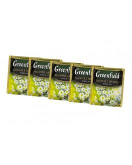 Чай GREENFIELD Camomile Meadow Ромашка 100 х 1,5 г економ. упаковка