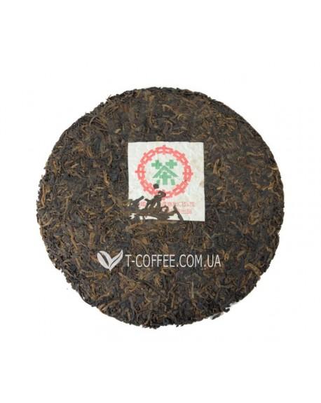 Пу Эр Бинг Ча черный прессованный чай Світ чаю 357 г