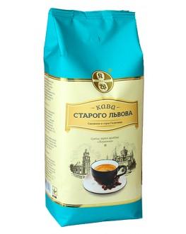 Кофе КАВА СТАРОГО ЛЬВОВА Лігумінна зерновой 1 кг (4820000371513)