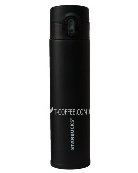 Термос-поилка Starbucks 380 мл черный