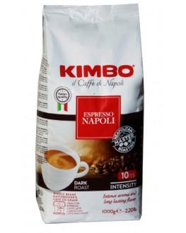 Кава KIMBO Espresso Napoli зернова 1 кг (8002200101688)