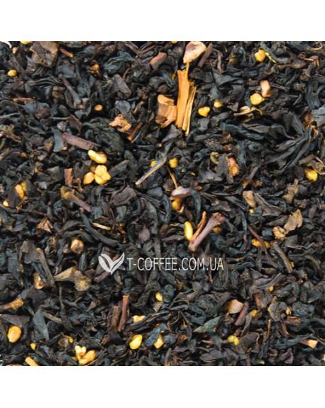 Нуга-Миндаль черный ароматизированный чай Світ чаю