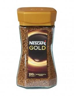 Кофе NESCAFE Gold растворимый 100 г ст. б.