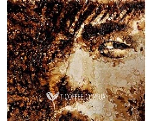 Разлитый кофе как средство изображения картины