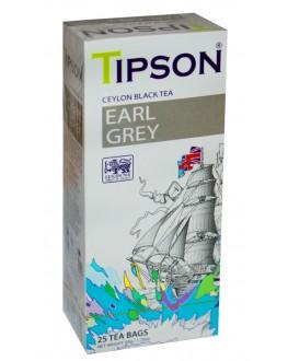 Чай TIPSON Earl Grey Ерл Грей 25 х 2 г (4792252931329)