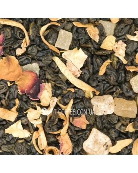 Манговый Рай зеленый ароматизированный чай Чайна Країна