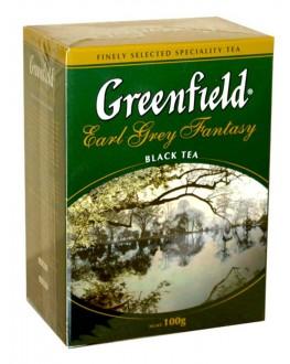 Чай GREENFIELD Earl Grey Fantasy Эрл Грей 100 г к/п (4823096801001)