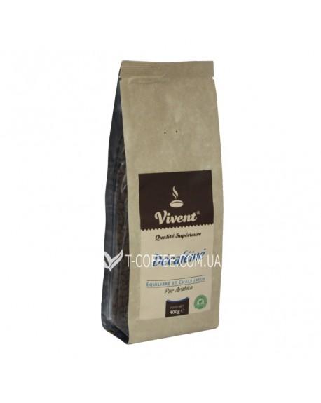 Кофе Vivent Decafeine зерновой 400 г (3071473968644)