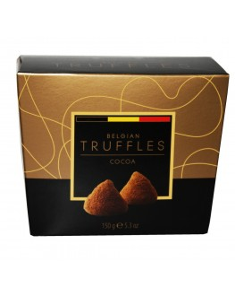 Цукерки BELGIAN TRUFFLES Cocoa Какао 150 г в коробці (5420066370018)