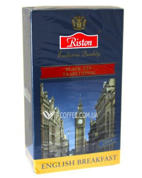 Чай Riston English Breakfast Английский Завтрак 200 г к/п