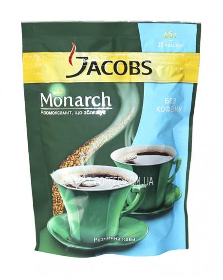 Кофе Jacobs Monarch растворимый без кофеина 65 г эконом. пак.
